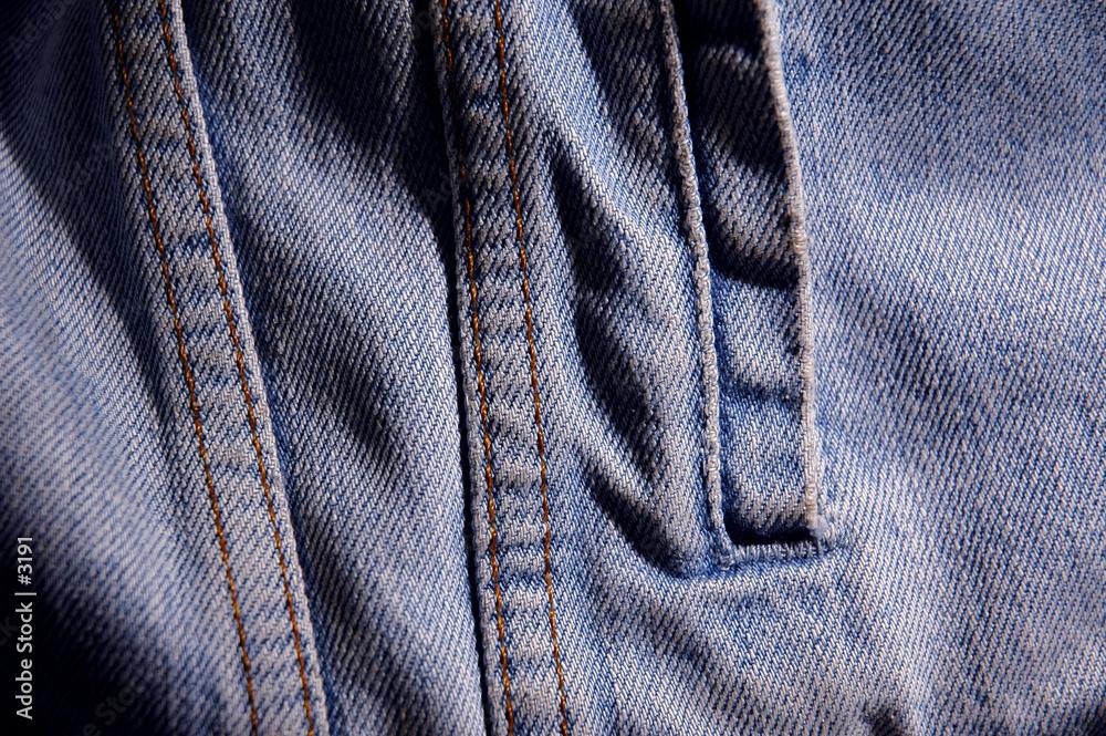 marynarka niebieski dżinsy - powiększenie