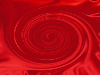 spirale rouge