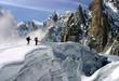 alpinisme et crevasse