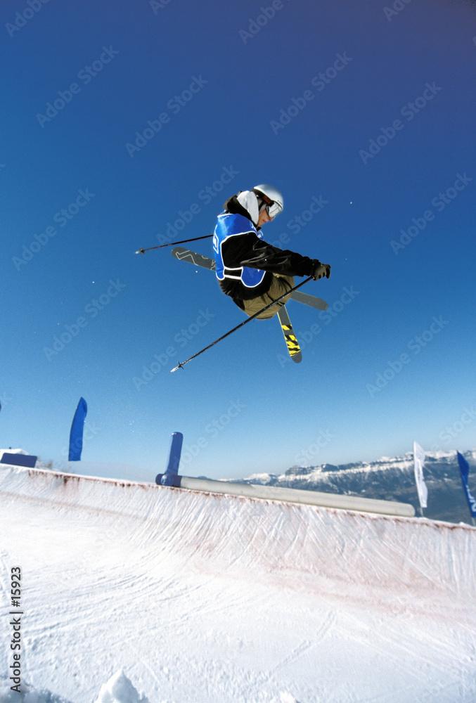narty freestyle śnieg - powiększenie