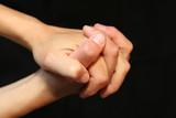 mains qui prient poster