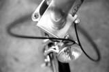 detail of bike 3 poster