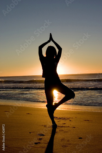 activity: yoga at sunrise