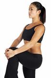 hamstring stretch poster