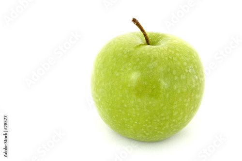 poster of green apple