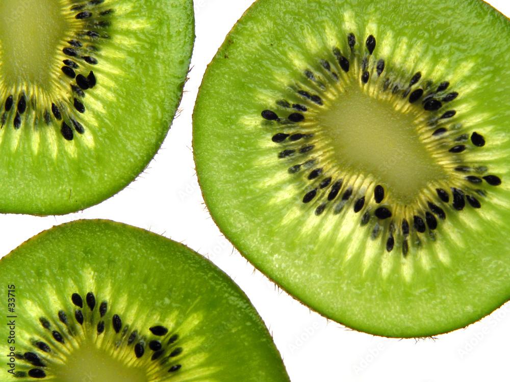 biały brązowy owoc - powiększenie
