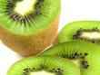 Fototapeta Biały - Brązowy - Owoc