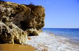 beach cliff poster