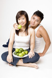 healthy couple 1 poster