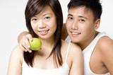 healthy couple 2 poster