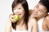 healthy couple 3 poster