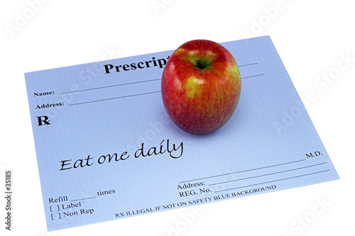 apple on a prescription