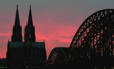 cologne on fire