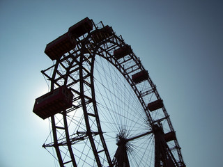 giant ferris wheel - vienna