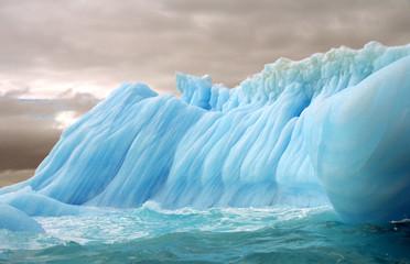 stripped iceberg