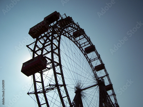 giant ferris wheel - vienna