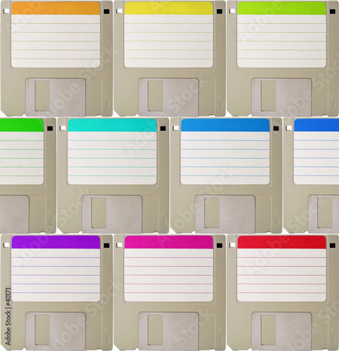 diskette background