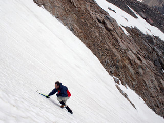 ice climbing - montana