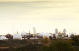 oil refinery poster