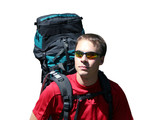 backpacker - recreation poster
