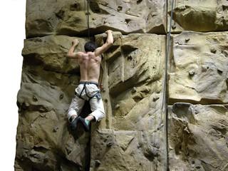 iron cross - rock climbing - extreme sports
