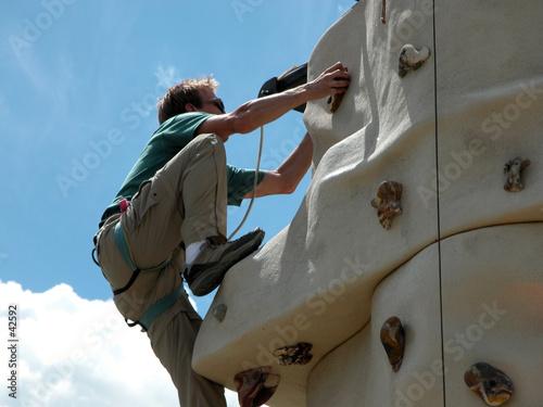 rock climbing wall - montana