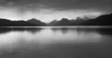 storm, lake mcdonald poster