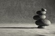 Leinwanddruck Bild simplified zen