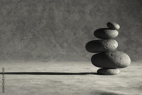 Leinwandbild Motiv simplified zen