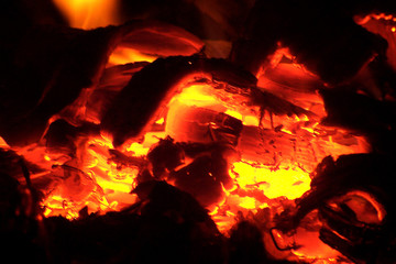 glowy fire
