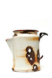 wyoming coffee pot poster