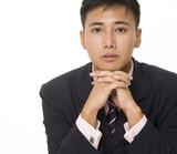 asian businessman 3 poster