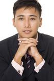 asian businessman 4 poster