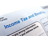 income tax form poster