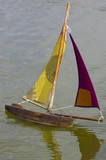 wooden sailing boats