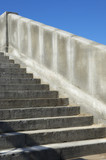 stairs from granite poster