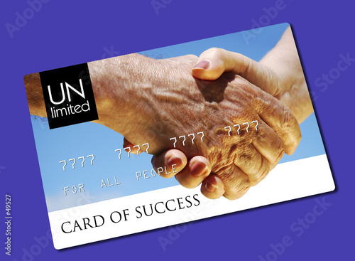 card of success