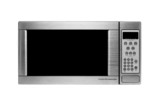 modern microwave oven poster