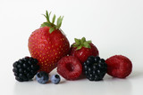 small fruit arrangement poster