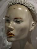 mariée voilée, mannequin poster
