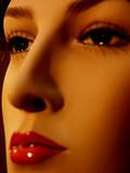visage de mannequin poster