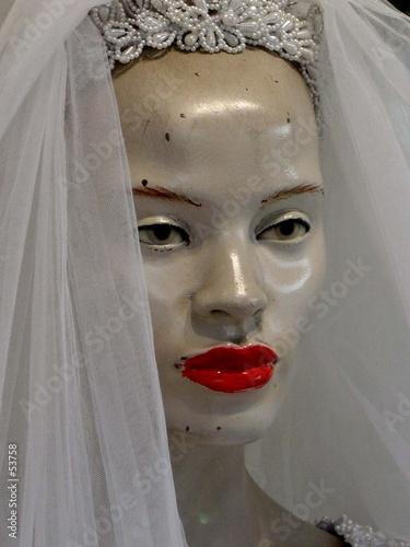 poster of mannequin mariée en voile