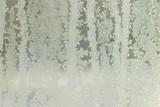 hoar-frost. winter window poster