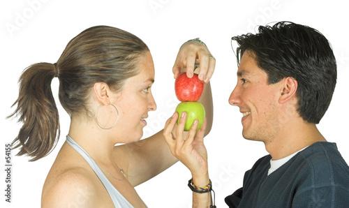 apple teamwork poster