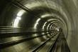 Leinwanddruck Bild - lrt tunnel