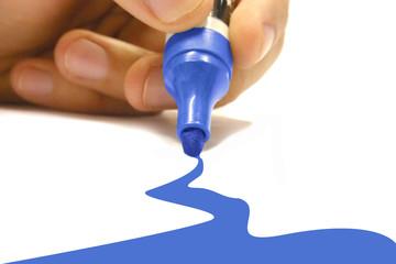 blue marker 2