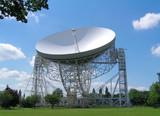 The Lovell Radio Telescope at Jodrell Bank, Cheshire, UK. poster