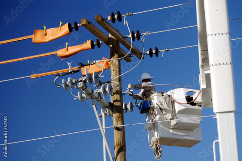 electric utility lineman - 57318