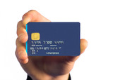 credit card payment - white poster