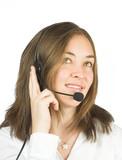 friendly customer services - sales representative poster